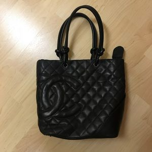 Chanel Quilted Tote Bag